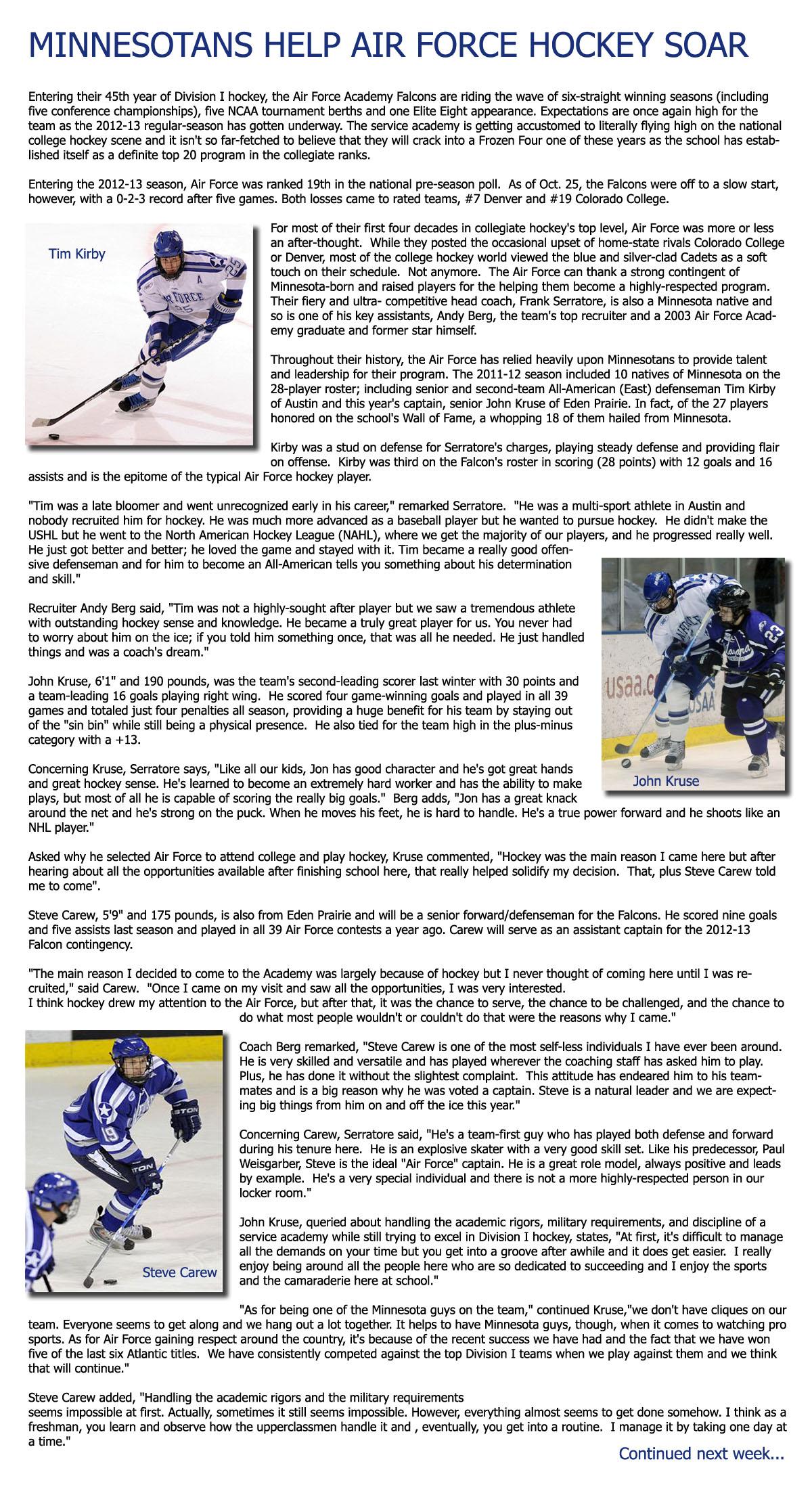 Air Force Academy Hockey